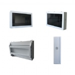 32inch outdoor wall mount android system lcd display kiosk with wifi speaker